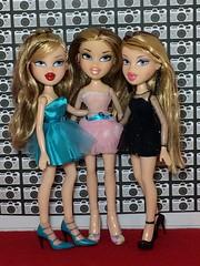 Valentina,Oriana, Siernna (Bubblegum18) Tags: bratz triplets sisters mga