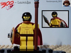 Leonidas (Random_Panda) Tags: show film television comics movie book tv comic lego fig films character books gerald butler figure movies shows characters minifig 300 minifigs figures figs minifigure leonidas minifigures
