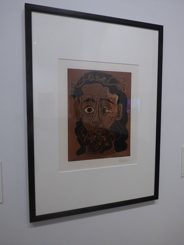 Turning to See: From Van Dyck to Lucian Freud - Birmingham Museum & Art Gallery -  Head of a Bearded Man, 1962
