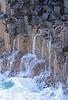 Cascades 008 (DMT@YLOR) Tags: ocean seascape waterfall rocks australia pacificocean newsouthwales lichen cascade polygons cascading polygonal fingalheads
