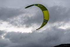 Up Up and Away (Jocey K) Tags: autumn newzealand sky clouds southisland centralotago windsurfing windsurfer tripdownsouth