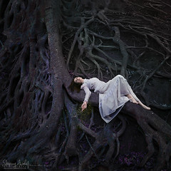 Rooted Memories (SleepingAwakePhoto) Tags: treeroots conceptualphotography rootedmemories