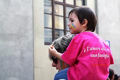 (valerologan) Tags: florence rainbow famiglia firenze toscana arcobaleno parata diritti mnifestazione toscanapride