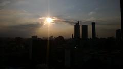 Reforma (SaberjohnSEMOVI) Tags: sunset cloud skyline mexico atardecer edificios nubes reforma chapultepec skyscrapper cdmx