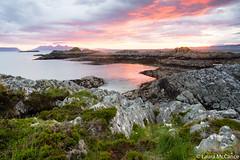Sunset on small isles (Laura McCance) Tags: ocean sunset sea scotland unitedkingdom rum eigg camusdarach