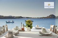 Enjoy Mykonos (Petinos Beach Hotel) Tags: travel view aegean relaxation luxury mykonos amazingview luxuryhotel mykonoshotel petinosbeach mykonosbeach amazingmykonos