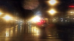 Against The Night (michael.veltman) Tags: from street lake chicago rain night lights illinois cab tracks l the in a
