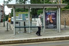 Hi Rod (Dave Vowles) Tags: bus celebrity tram stewart singer rod shelter