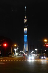Sky Tree from Asakusa (Stop carbon pollution) Tags: tower japan  kantou