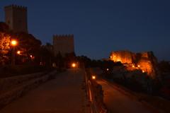 Erice (moniq84) Tags: sunset tramonto sicilia erice trapani