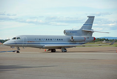 N786CS (Skidmarks_1) Tags: norway airport aircraft aviation osl dassault engm bizjets businessjets oslogardermoenairport falcon7x n786cs