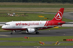 TC-ATD DUS 16.06.2016 (Benjamin Schudel) Tags: germany airbus dusseldorf a319 dus atlasglobal tcatd