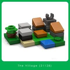 LEGO Brand Store - The Village (21128) (Adeel Zubair) Tags: lego legostore legobrandstore store modular building moc mini micro microscale set minecraft village 21128