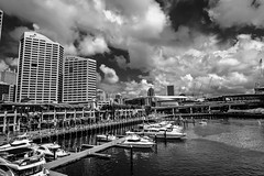 DSC00496 (Damir Govorcin Photography) Tags: sydney water boats darling harbour clouds zeiss 1635mm sony a7ii