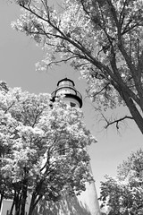 Marblehead (David Sebben) Tags: ohio lighthouse marblehead great lakes historic infrared oldest navigation
