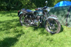 Triumph T110 Tiger 1956 650cc OHV (Michel 67) Tags: vintage motorbike moto motorcycle ancienne motocicleta motorrad vecchia motocicletas clasica motociclette motociclete classik clasiic motocyklar motocicletti