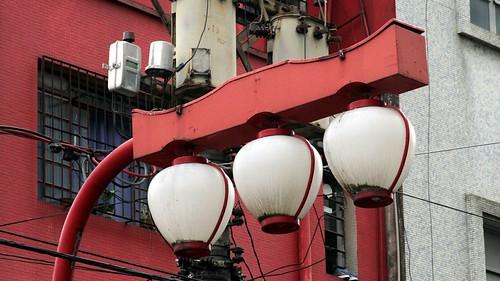 Liberdade street lamps, São Paulo