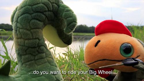 Evil Grin Gift Box Episode 4 - Tender Tides: Big Wheel Invitation