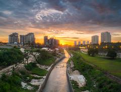 Bukit Jalil Sunset (Muhammad Hafiz Muhamad) Tags: sunset composite cityscapes malaysia fujifilm hdr selangor hafiz x10 bukitjalil tonemapped mhafiz87 muhammadhafizbinmuhamad