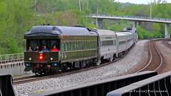 Indiana Railroad Charter Cars - Lafayette, Indiana (JFeister) Tags: railroad santafe train canon private lafayette indiana amtrak passenger charter hoosierstate inrd