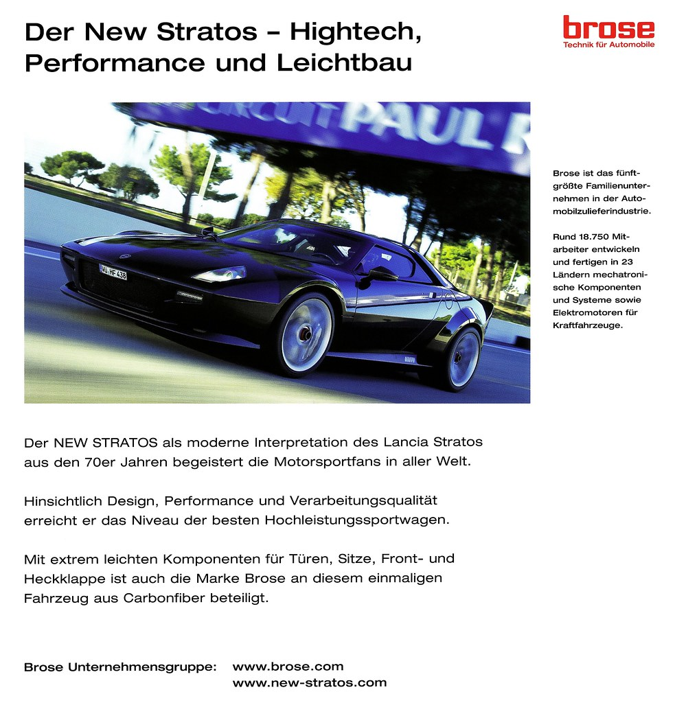 Sportwagen New Stratos Basis: The World's Best Photos Of Auto And Leichtbau