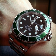 Rolex 50th Anniversary Submariner 16610LV (Danny Tam) Tags: watches watch wristwatch rolex submariner 16610lv flickrandroidapp:filter=tokyo