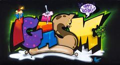 Happy Bday Igasm - By uset (Youset) Tags: cake graffiti koc uset igasm koccrew
