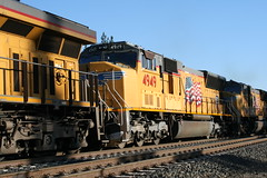 Union Pacific #4949 (EMD SD70M) in Colfax, CA (CaliforniaRailfan101 Photography) Tags: up amtrak unionpacific priority ge freight bnsf reefer manifest emd californiazephyr burlingtonnorthernsantafe dash9 dpu es44dc gevo sd70m amtk c449w stacktrain sd70ace es44ac colfaxca c45accte p42dc trackagerights es44c4 tietrain sd59mx unitreefer zdlsk trainsincolfaxca