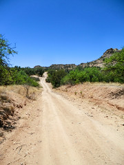 1305 Forest Road 687-Heading Out (c.miles) Tags: arizona unitedstates dirtroad cochisestronghold forestroad687