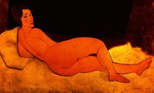 "La Gran Odalisca, argumentación de Jean Auguste Ingres (1814), sinapsis de Auguste Renoir (1890), Pablo Picasso (1907), Amadeo Modigliani (1917). • <a style=""font-size:0.8em;"" href=""http://www.flickr.com/photos/30735181@N00/8815603454/"" target=""_blank"">View on Flickr</a>"
