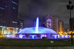 """ (Miinanda) Tags: plaza square lights luces venezuela fuente caracas source plazavenezuela"