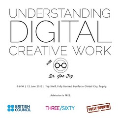 Understanding Digital Creative Workshop with Dr Fry (British Council Philippines) Tags: digital three fry dr sixty fully britishcouncil booked