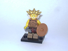 33 Ancient Warrior King (GZakky) Tags: lego minifigs minifigures collectibleminifigures