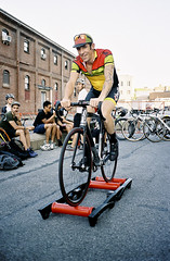 Portra 400 (xChris Leex) Tags: red film yard 35mm navy contax hook crit t2 contaxt2 2013 redhookcrit redhookcrit2013