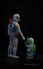 Boba Fett is your father (luzer) Tags: vintage starwars yoda lego ewok stormtrooper c3p0 bobafett darthvader minifigure fatherson 375in