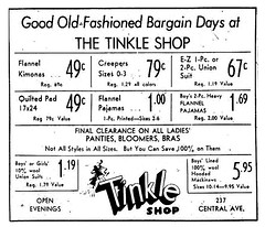 tinkle shop 1949 (albany group archive) Tags: tinkle shop 1949 albany ny central 1940s