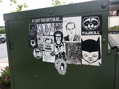 Blackenedwhite Combo (Hot Rod(R)) Tags: street art ojo kim stickers el we il where curly atv below belong ror titi skully bloo jong sore combos slaps stickerbomb noxin ceito 455er dcoi fuxus fujikill madik kgatl soreinfest atleastthisisntanad