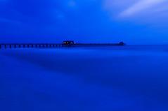 Midnight Blue (Bernie Kasper) Tags: travel family blue light sunset vacation art nature night landscape photography nikon hiking c vivid getty keywest d200 naturephotography keywestflorida berniekasper