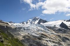 Vue du refuge Albert 1er (yakatof) Tags: travel mountain france alps green nature montagne alpes nikon albert rando glacier nikkor vue 1er refuge 1635 d600 ier