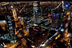 Bogotá - Night Lights (CAUT) Tags: city light building luz noche nikon bogota nocturnal edificio centro ciudad nocturna dowtown d90 colpatria caut 2013 nikond90