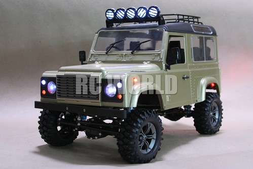 Flickriver: Photoset 'RC 4WD LAND ROVER DEFENDER 90 4X4 GOLD' by RC