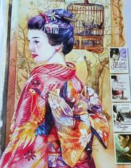 geisha (Martha-Ann48) Tags: fiction japan court japanese good reads culture books lesley story advert historical samurai chinoiserie author courtesan downer concubines
