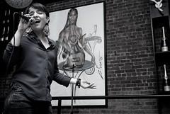 Sonuvo (Saundi Wilson Photography) Tags: nyc music jazz jazzclub bubblelounge sonyalpha sethjohnson mariemartin jeromejennings sonuvo