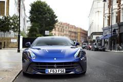 Tour De France (tWm.) Tags: blue france london car de tour thomas super ferrari mein supercar fse f12 v12 tdf berlinetta 2013 lf63fse lf63