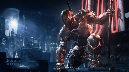 Batman Arkham Origins - Deathstroke Challenge Pack Gameplay Trailer