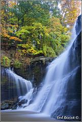 Another waterfalls.. (Earl Reinink) Tags: autumn ontario canada nature water nikon waterdrop sumac autumncolors dunnville nikond4 201310170142