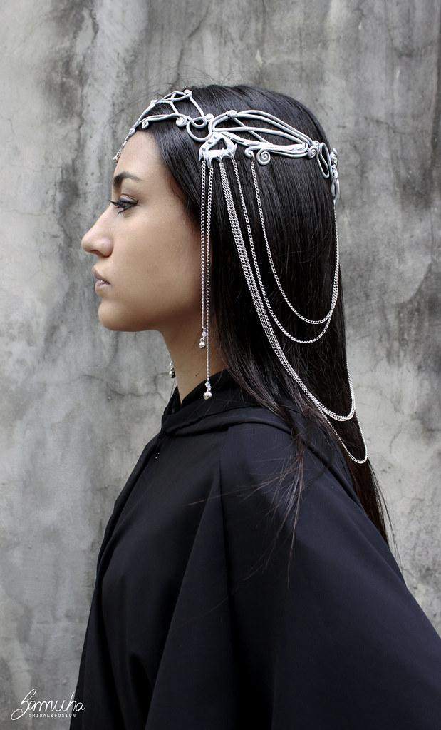 Coroa borboleta estilo celta princesa arwen (Samicha) Tags tiara bronze tribal dourado dos