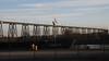 Eisenbahn-Hochbrücke über den Nord-Ostsee-Kanal (NOK); Rendsburg (11) (Chironius) Tags: schleswigholstein deutschland germany allemagne alemania germania германия szlezwigholsztyn niemcy nordostseekanal kielcanal nok stahl industrie fachwerkskonstruktion stahlfachwerk rendsburg
