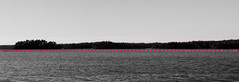 Dotted line (Antti Tassberg) Tags: windows sea blackandwhite bw monochrome zeiss suomi finland catchycolors nokia raw minimal smartphone scandinavia wp minimalistic meri selectivecolour carlzeiss 1520 dng lumia flickrfriday mobilephotography poiju båtvik pureview phablet lumia1520 {vision}:{outdoor}=099 {vision}:{sky}=0766 {vision}:{ocean}=0678 puhletti