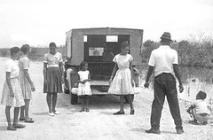 Group of nationals with Horsts (Mennonite Church USA Archives) Tags: britishhonduras mennoniteboardofmissions